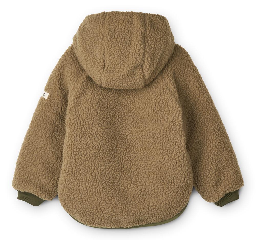 Jackson reversible jacket golden caramel baby-2