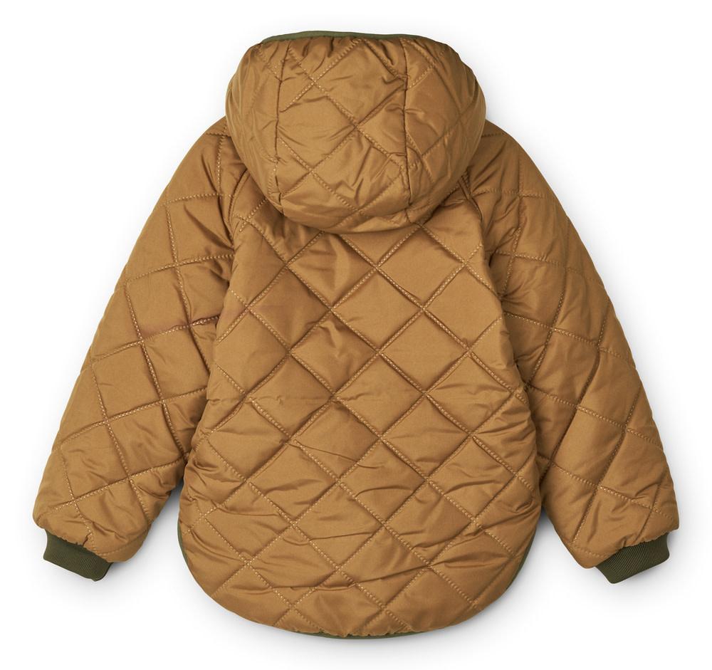 Jackson reversible jacket golden caramel-4