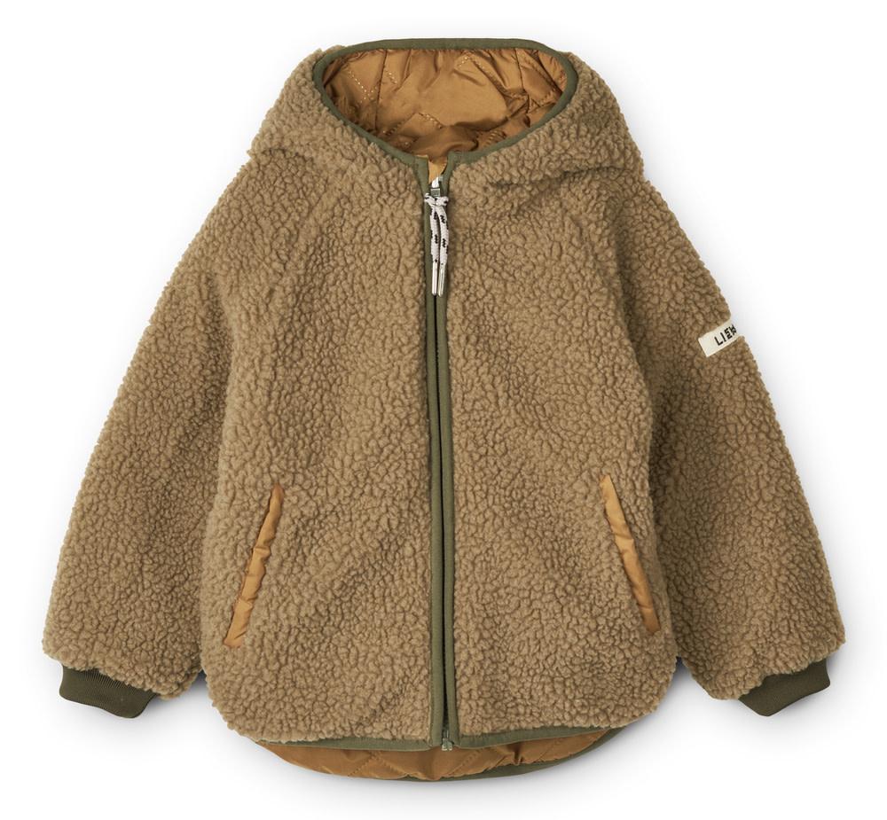 Jackson reversible jacket golden caramel-1