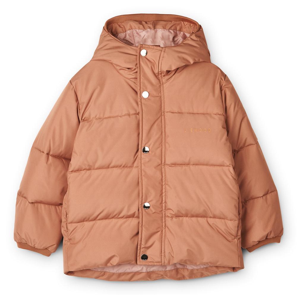 Palle puffer jacket tuscany rose baby-1