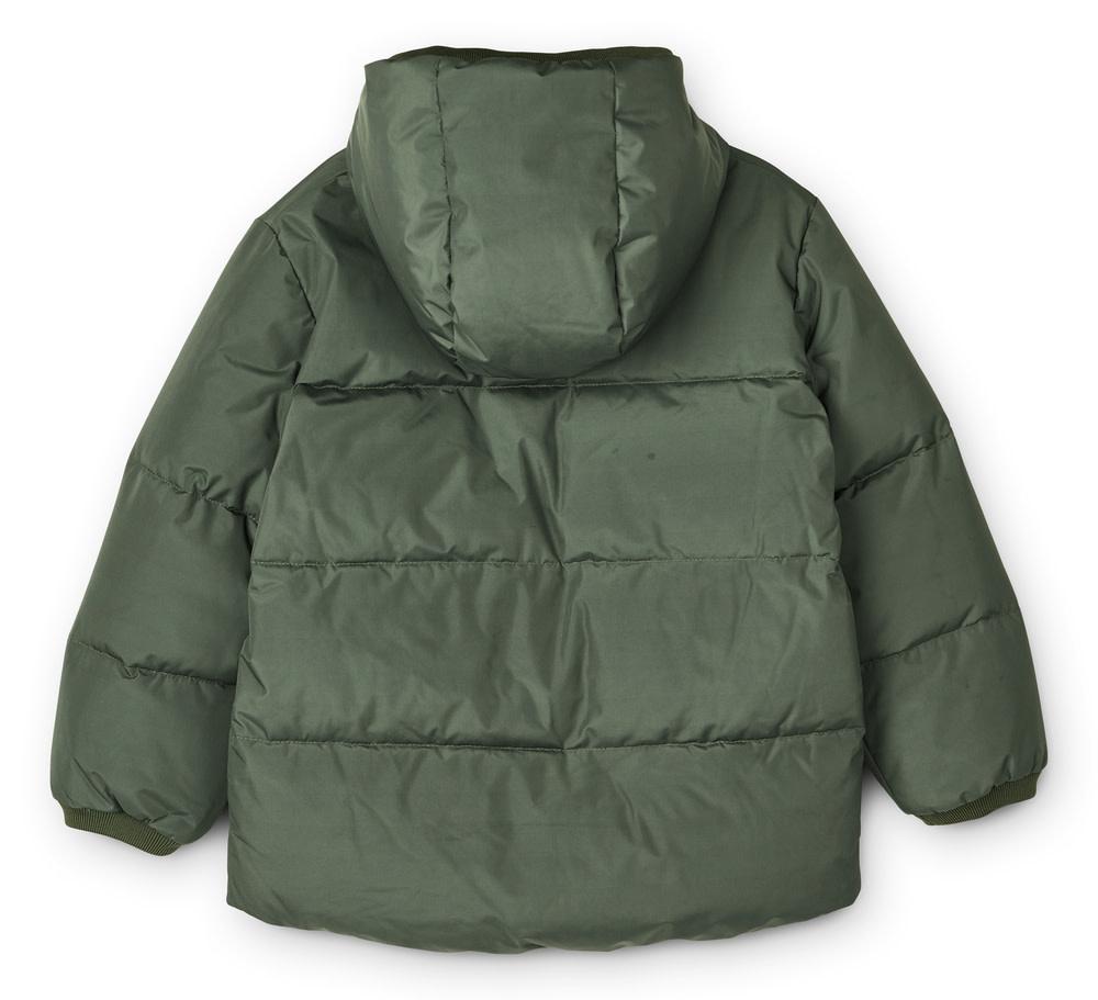 Palle puffer jacket hunter green baby-2