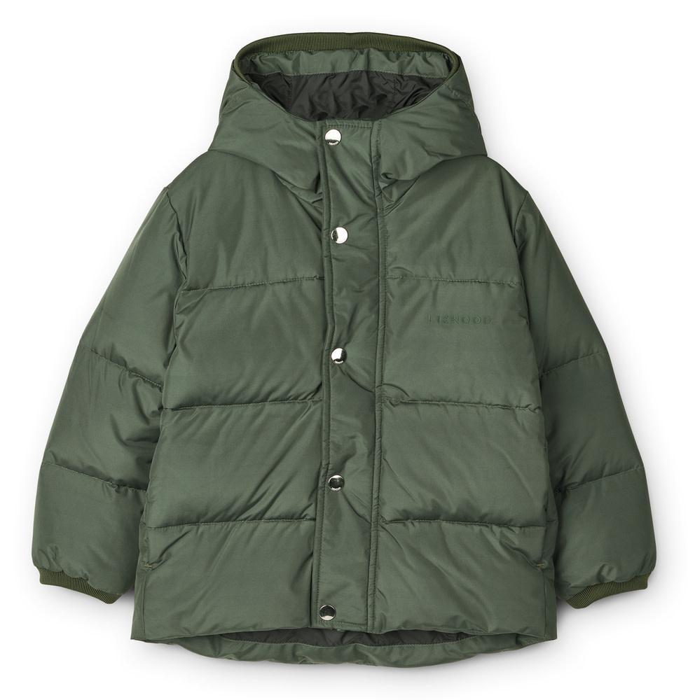 Palle puffer jacket hunter green baby-1