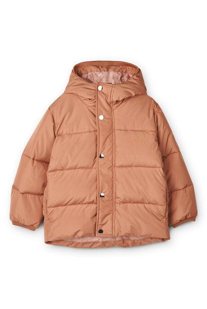 Palle puffer jacket tuscany rose