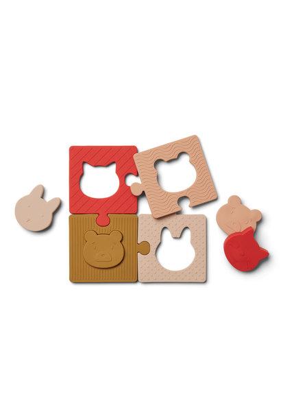Bodil puzzle rose multi mix