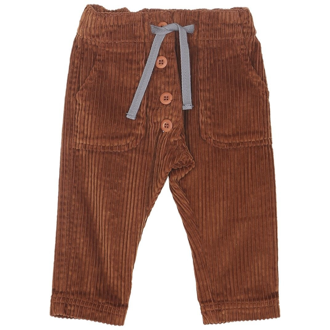 Pantalon brun-1