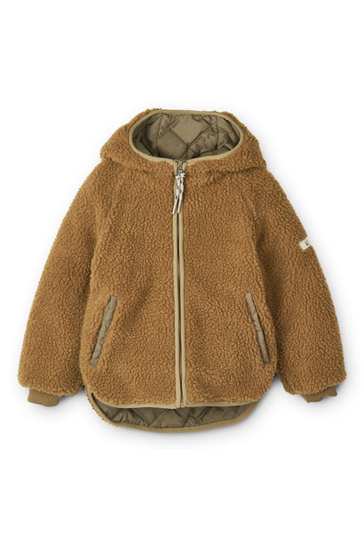 Jackson reversible jacket khaki