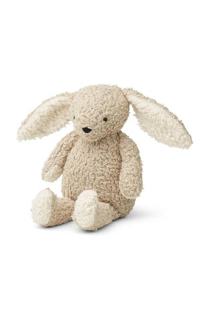 Riley the rabbit pale grey