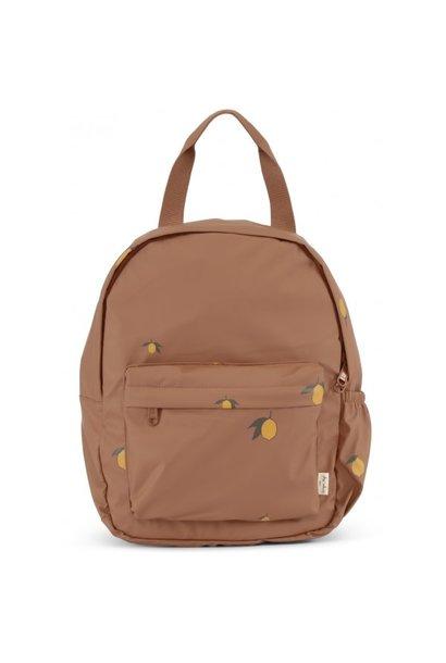 Rain kids backpack mini deux lemon brown