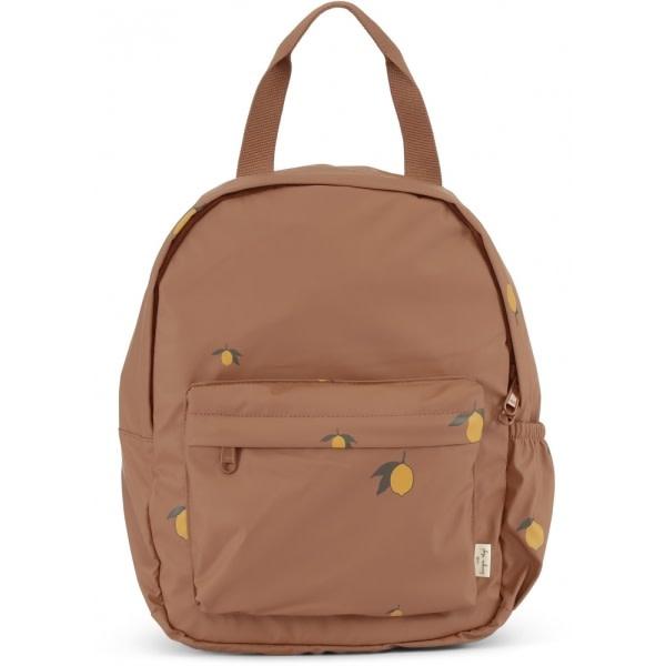 Rain kids backpack mini deux lemon brown-1