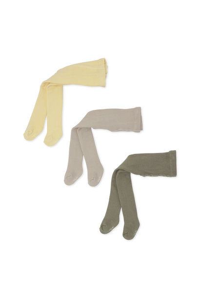 Terry stockings mellow marsmellow - 3 pack