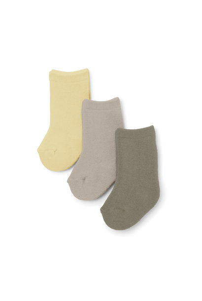 Terry socks mellow marsmellow - 3 pack