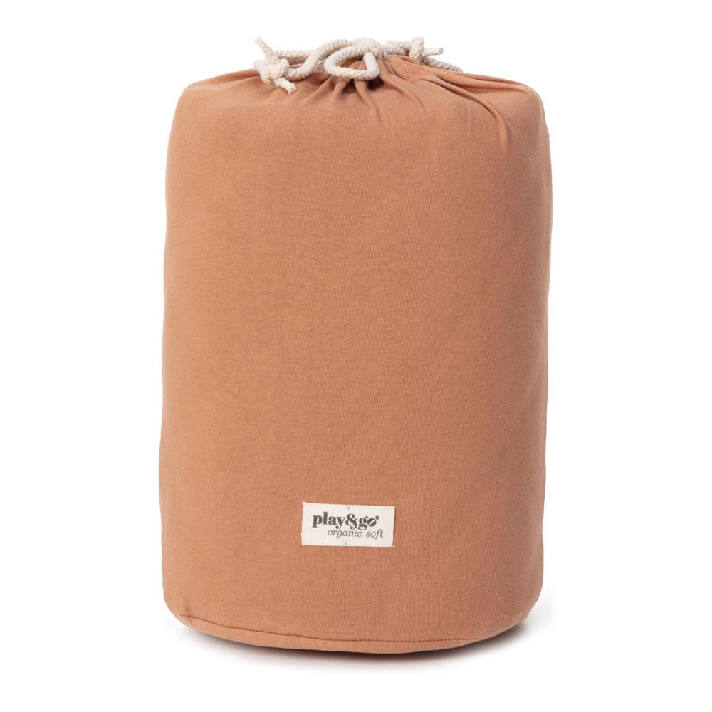 Organic babymat tawny brown-5