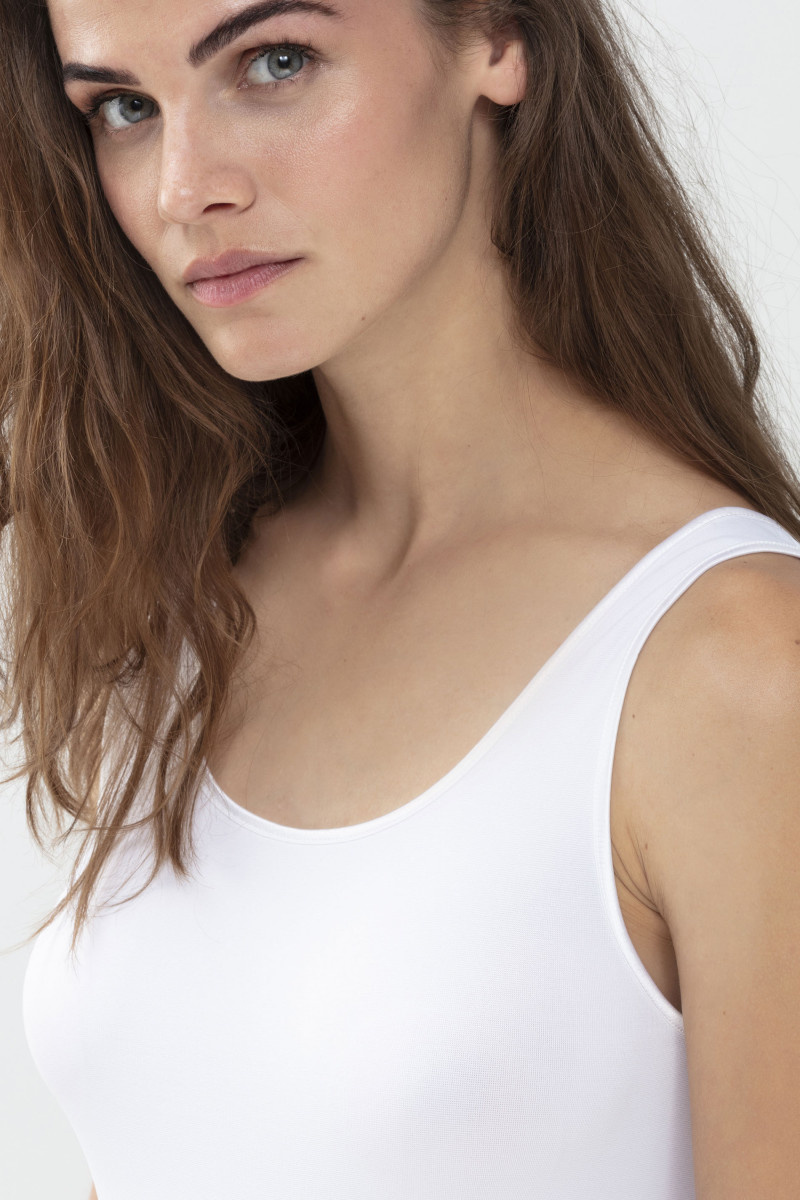 MEY MEY Emotion hemd brede band 36-52 wit