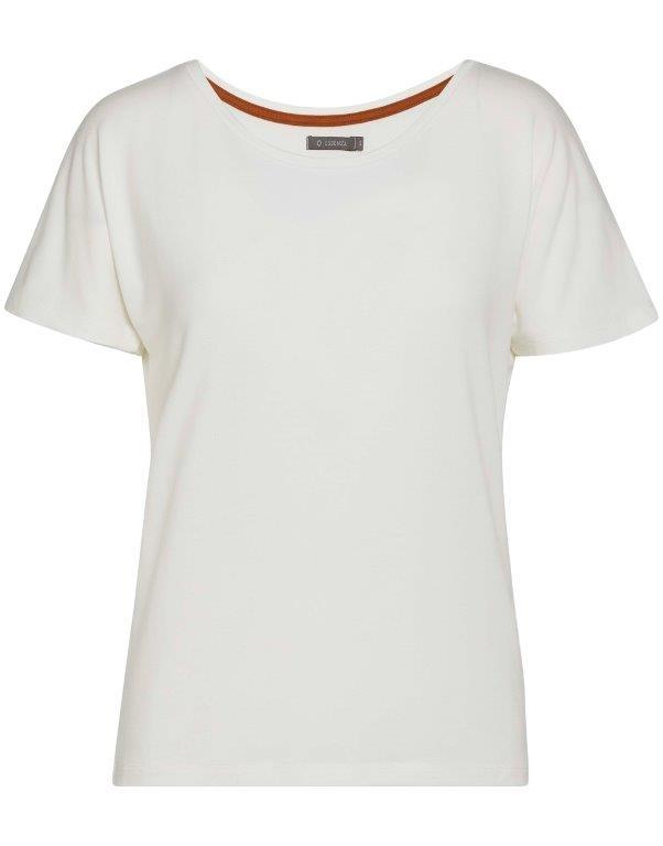 Essenza  Essenza Ellen uni top short sleeve S-L vanilla