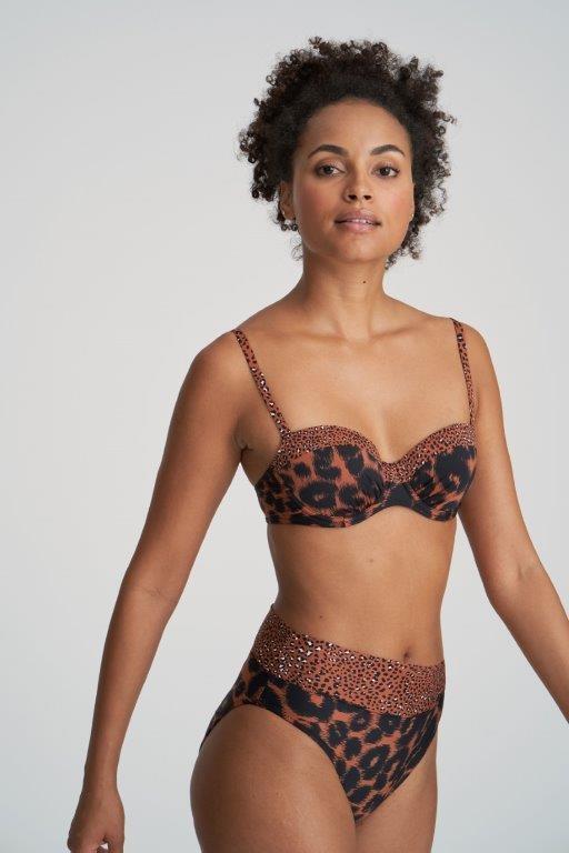 Marie Jo SWIM Marie Jo Swim Amanda tailleslip met omslag 36-46 zanzibar
