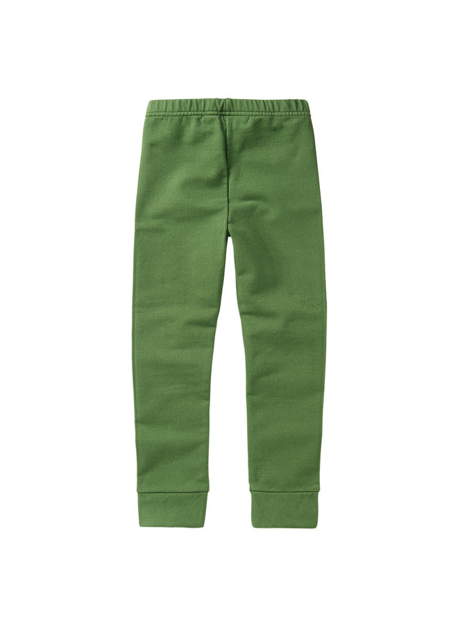 Mingo | winter legging | moss green