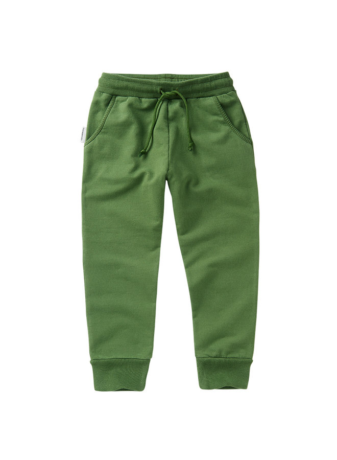 Mingo | slim fit jogger | moss green