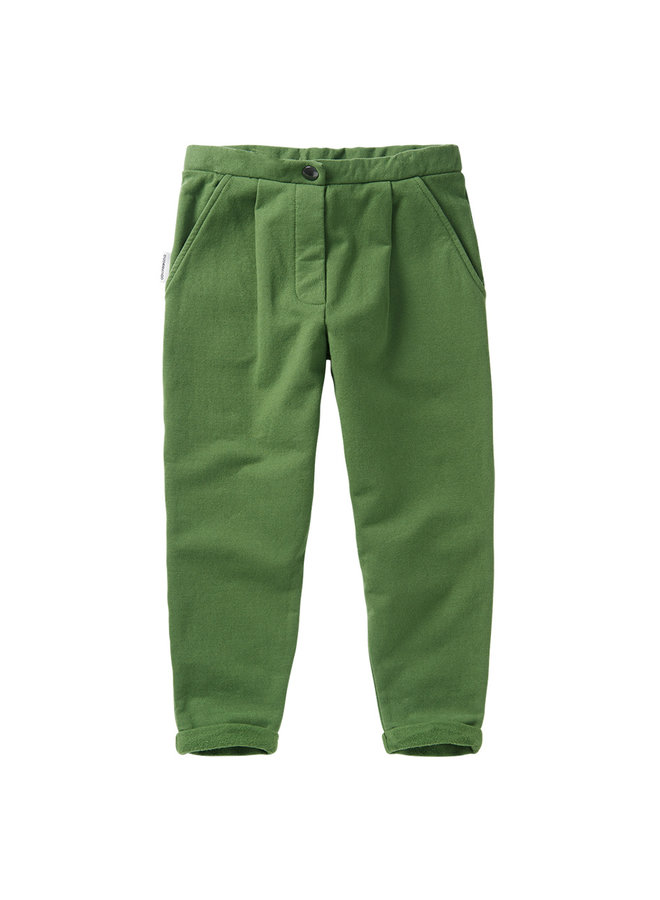 Mingo | cropped chino | moss green