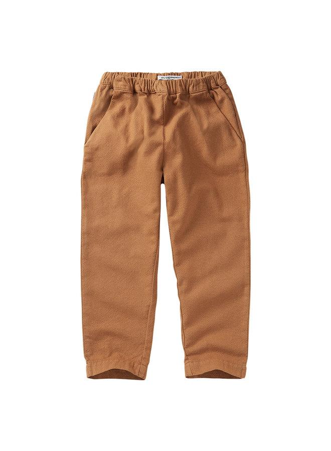 Mingo | tapered trouser | caramel