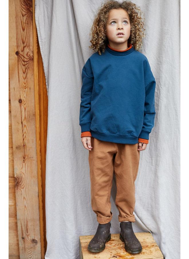 Mingo   sweater   teal blue
