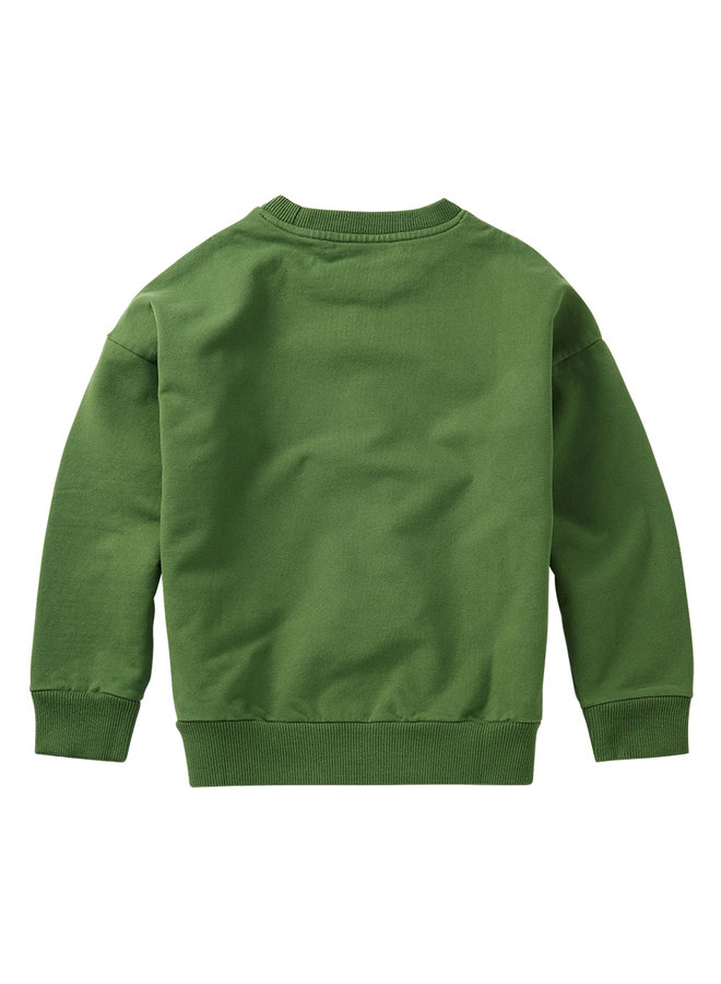 Mingo | sweater | moss green