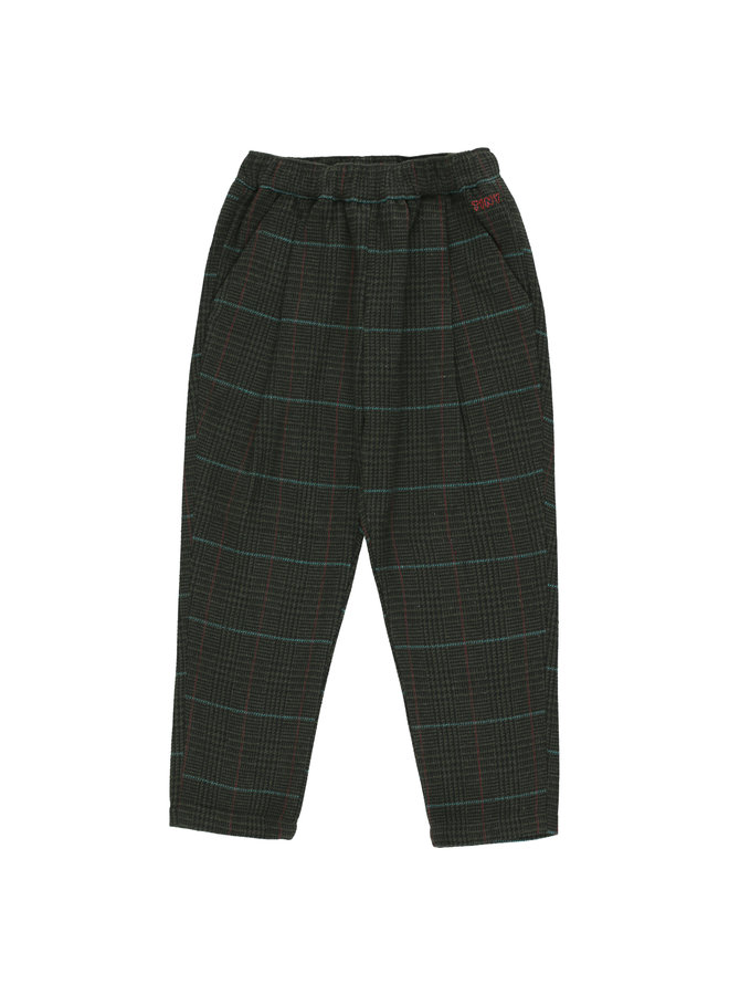 Tinycottons   tweed pleated pant   multicolor