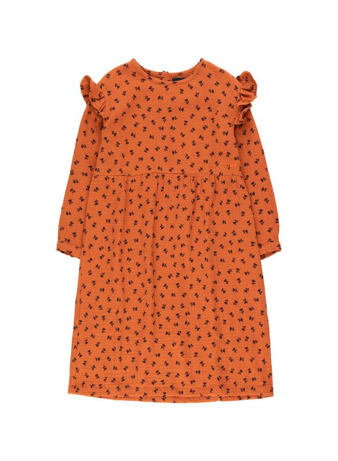 Tinycottons | tiny flowers dress | sienna/navy