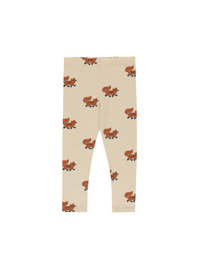 Tinycottons | foxes pant | cream/brown