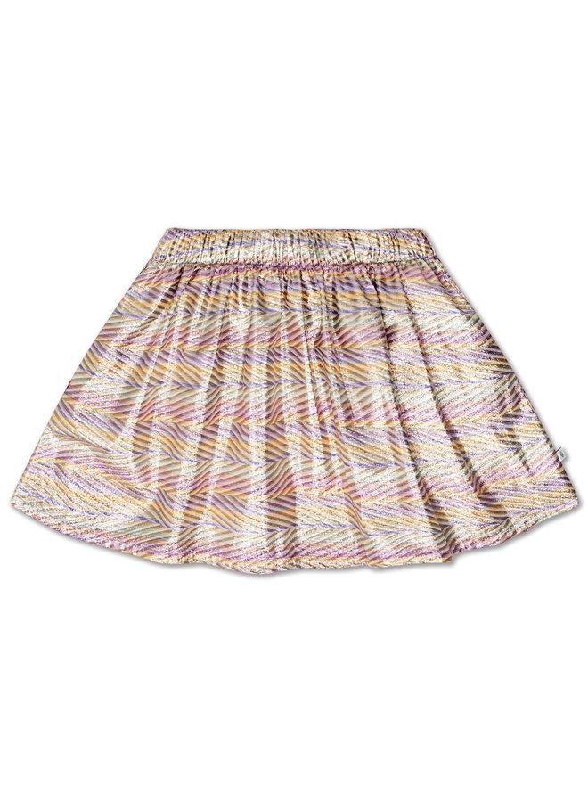 Repose AMS   short skirt   zig zag sparkle rainbow