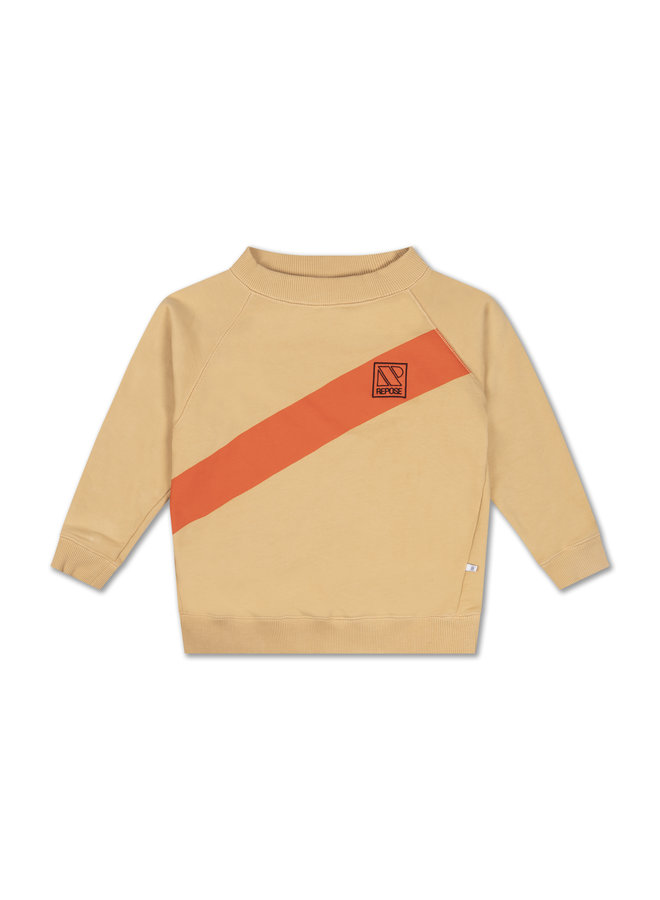 Repose AMS | classic sweater | warm sand