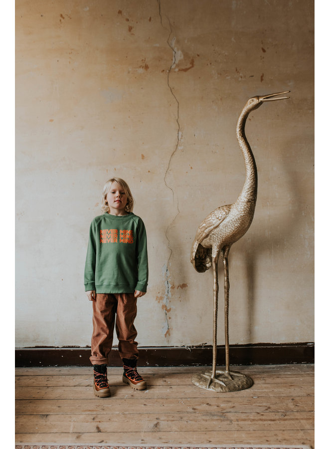 Repose AMS   classic sweater   hunter green