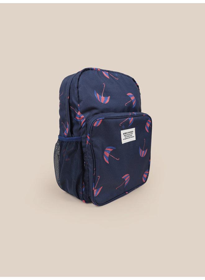 Bobo Choses | umbrellas all over backpack