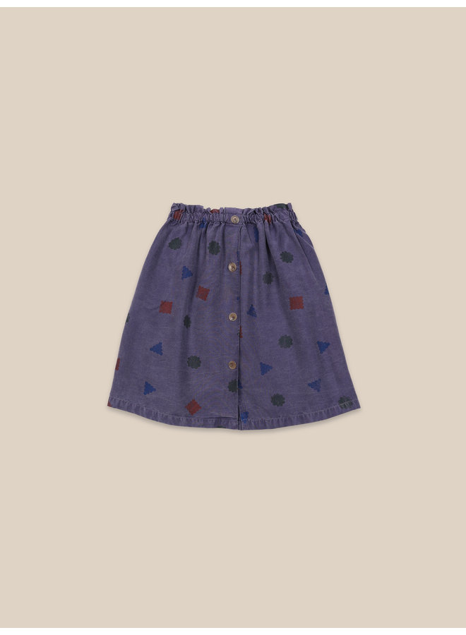 Bobo Choses | excuses all over woven skirt