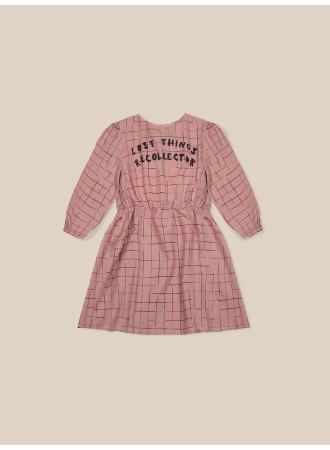 Bobo Choses | grid woven dress