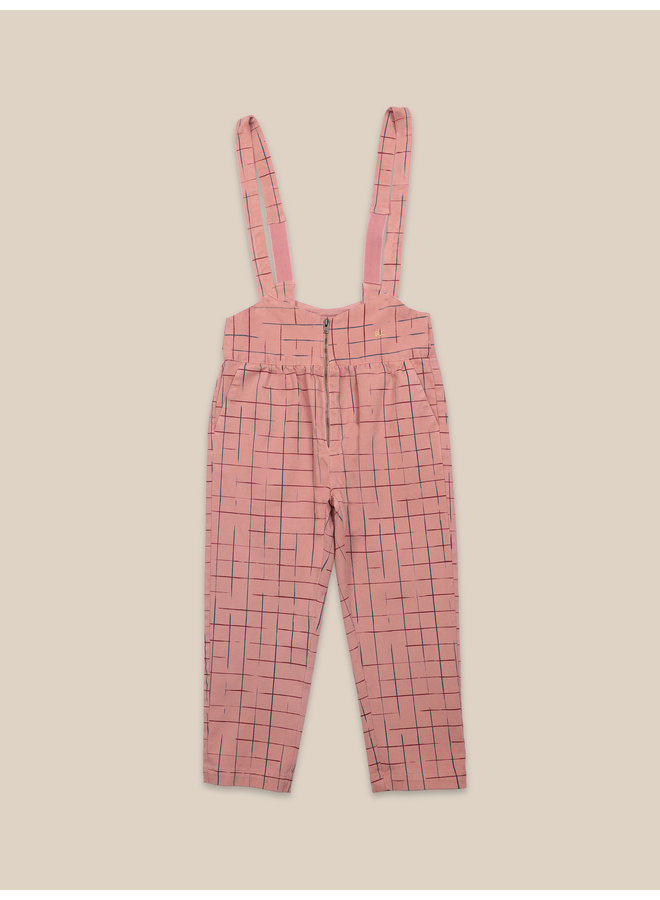 Bobo Choses | grid braces pants