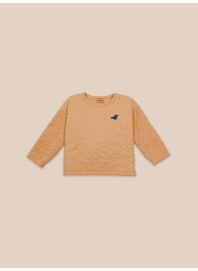 Bobo Choses | bird tuner quilted sweatshirt