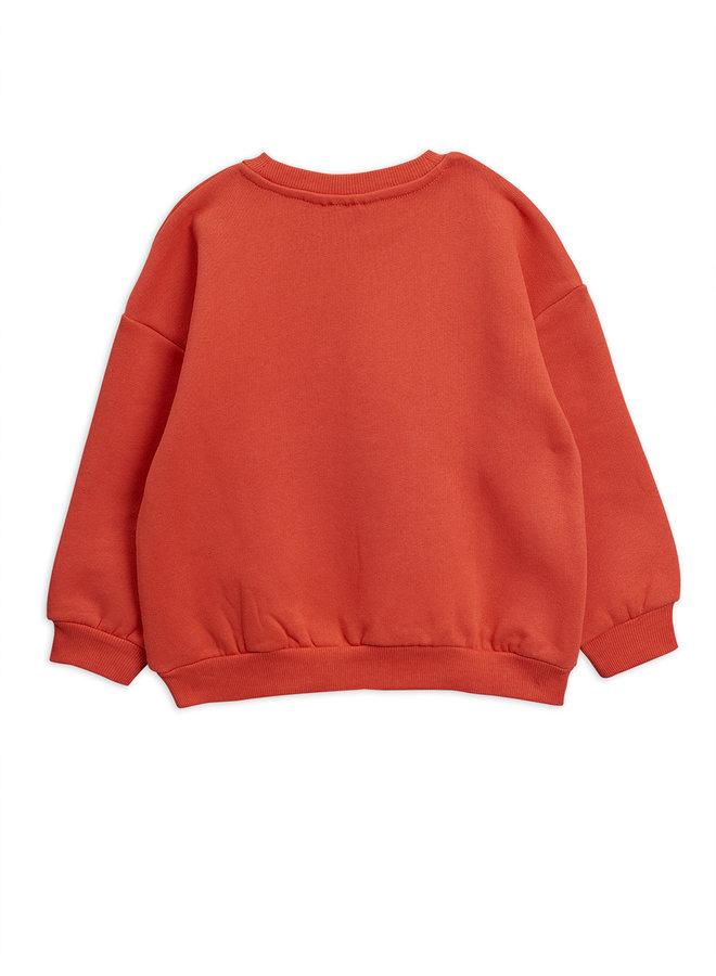 Mini Rodini   fur elise sp sweatshirt   red