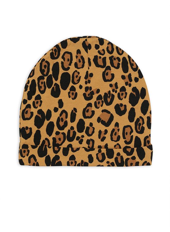 Mini Rodini | basic leopard beanie