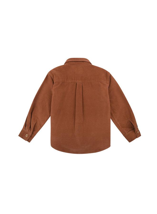 The New Society | bambi pocket shirt | caramel