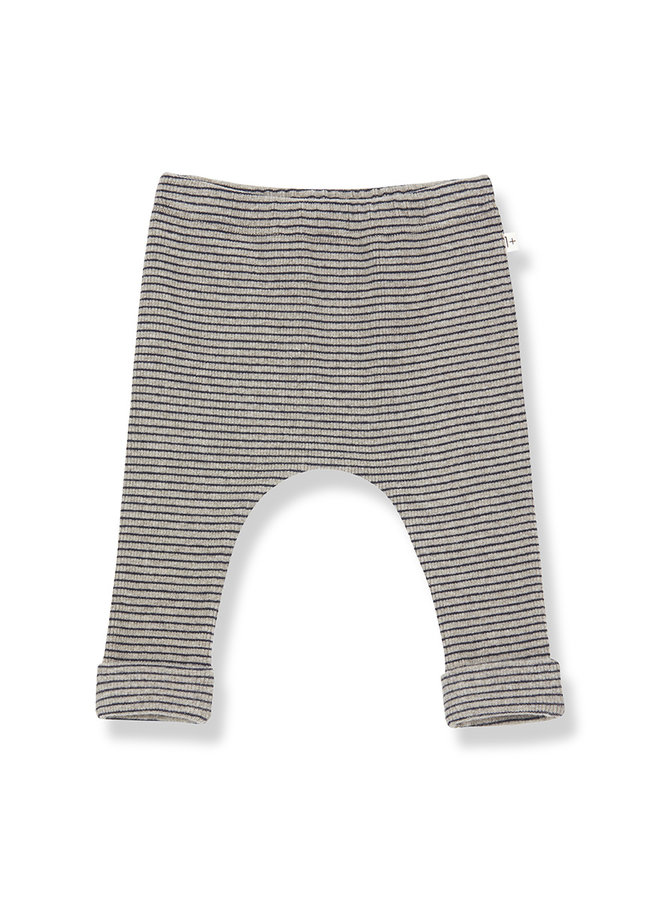 1+ in the family | nunavut leggings | beige/blue notte