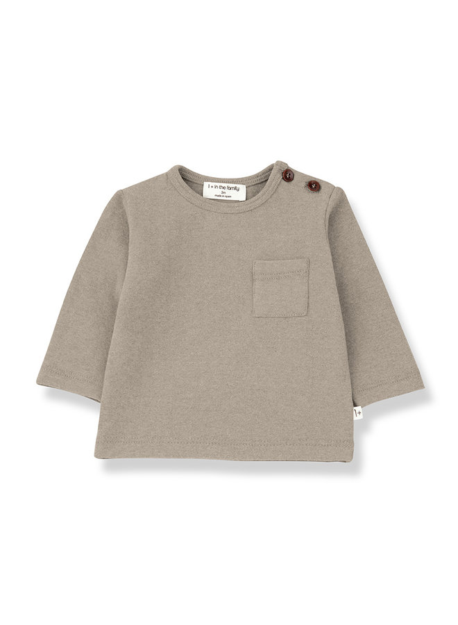 1+ in the family | aneto t-shirt | beige