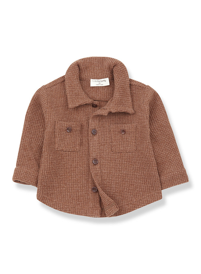 1+ in the family | civetta shirt | toffee