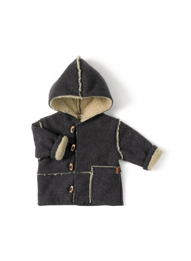 Nixnut   winter jacket   antracite
