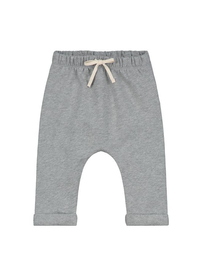 Gray Label | baby pants | grey melange