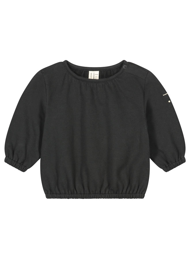Gray Label | baby balloon top | nearly black