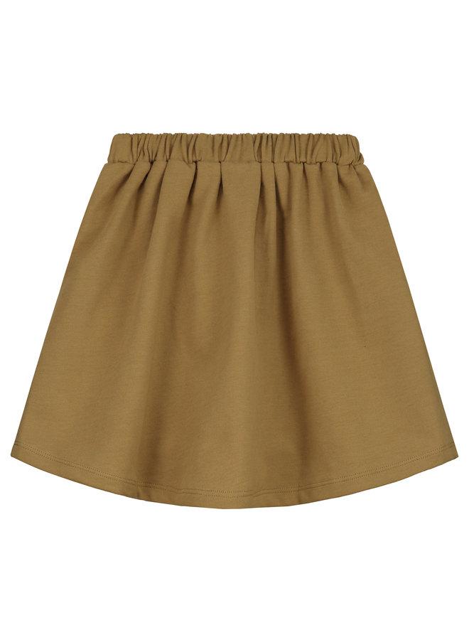 Gray Label | front pocket skirt | peanut