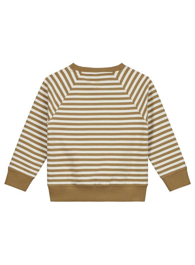 Gray Label | crewneck sweater | peanut/off white