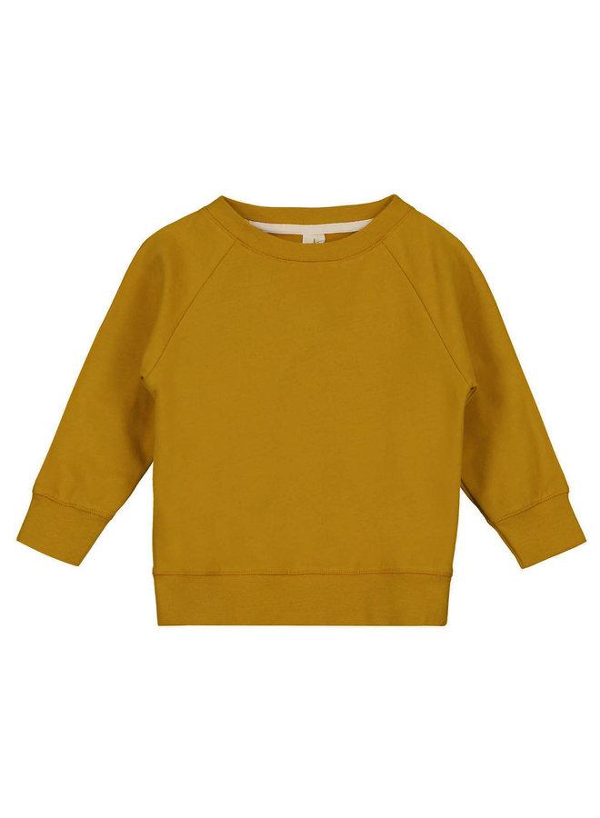 Gray Label | crewneck sweater | mustard