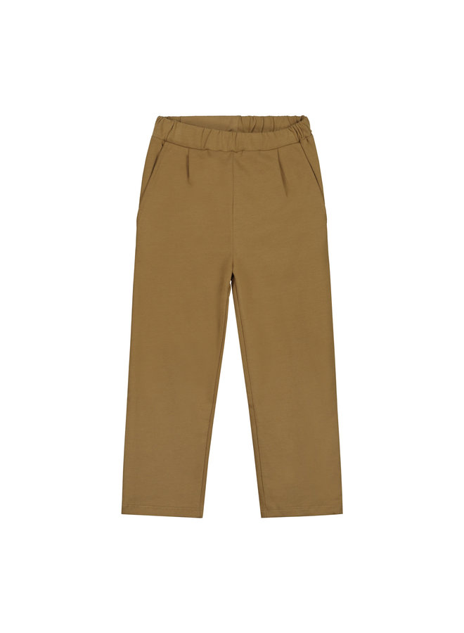 Gray Label | relaxed pleated trousers | peanut
