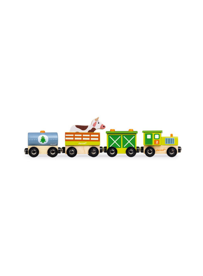 Janod | story | boerderij trein